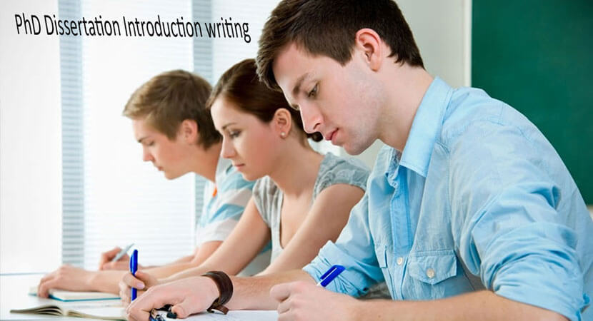 Writing an Introduction for Your Dissertation