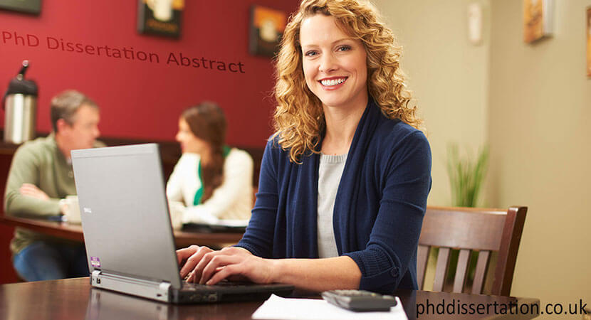 WRITING AN ABSTRACT FOR YOUR DISSERTATION OR THESIS