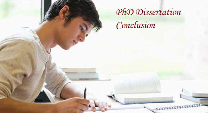 PhD Dissertation Conclusion Chapter