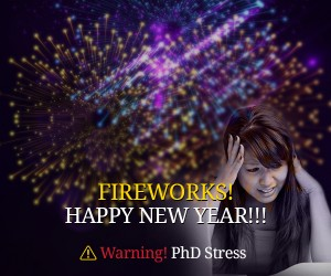 Fireworks! HAPPY NEW YEAR!!! Warning! PhD Stress
