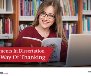 Acknowledgements In Dissertation – An Ethical Way Of Thanking
