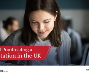 Importance of Proofreading a PhD Dissertation in the UK